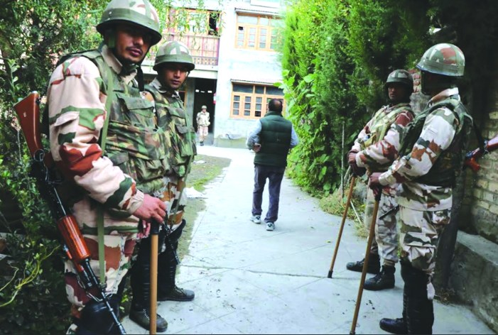 Unprecedented security arrangements put at place for polling in Shopian, Pulwama districts