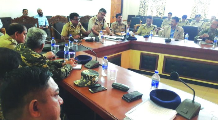 DIG south Kashmir chairs security review meeting ahead of Amarnath yatra