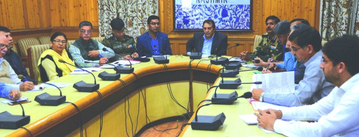Ensure smooth conduct of Amarnath Yatra: Div Com to Officers