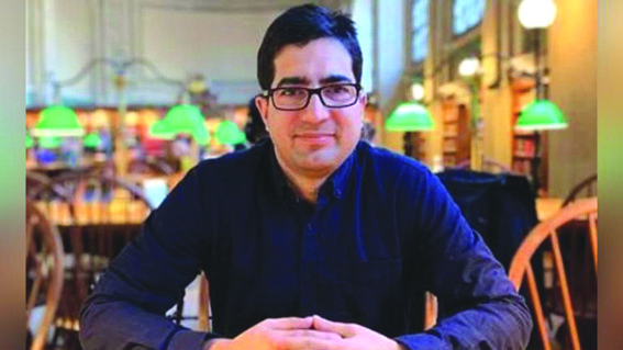 Should Kashmir's also migrate, asks Shah Faesal