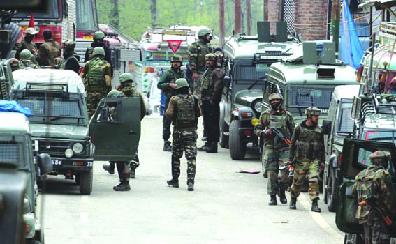 Four militants, 'active associate' killed in Shopian, Awantipora gunfights
