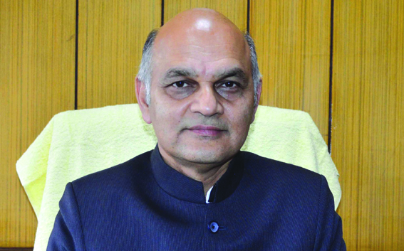 K K Sharma meets Union Secy Finance