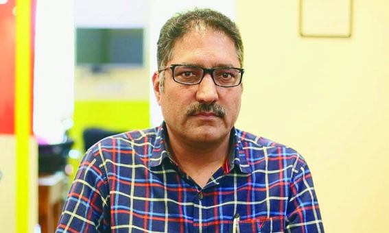 Kashmir Press Club pays tribute to Shujaat Bukhari