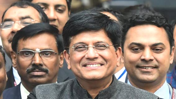 Goyal discusses action plan to improve volumes on govt's e-marketplace