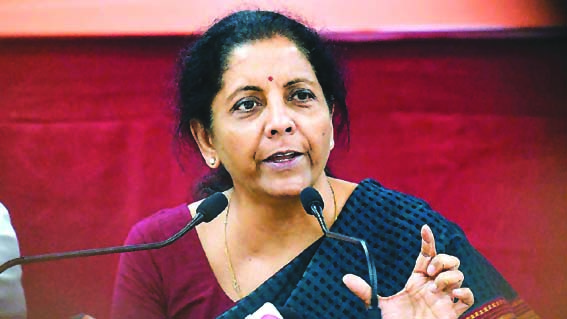 Seven indirect taxation-related laws being amended: Sitharaman