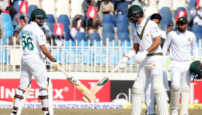 Babar , Shan hundreds put Pakistan in command against Bangladesh
