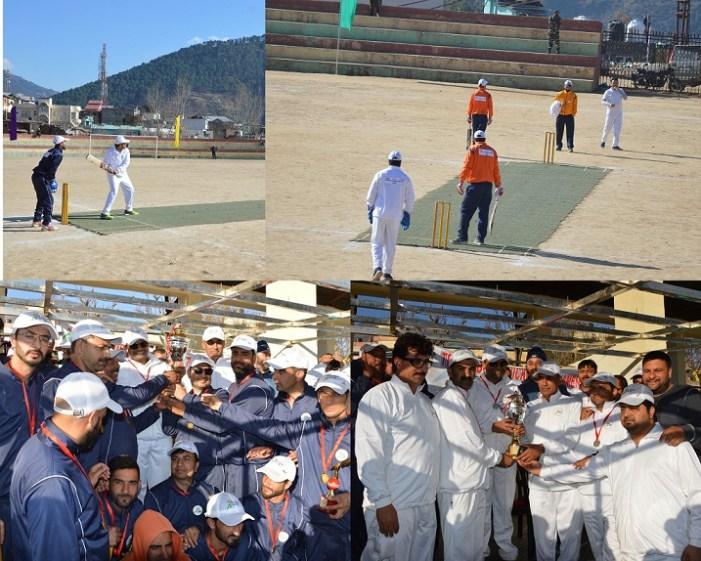 District admin organises Tennis Ball Cricket Tournament at Doda