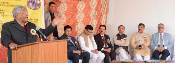 Union Min, Kataria inaugurates Skill Devt Center at Migrant Colony, Jagti