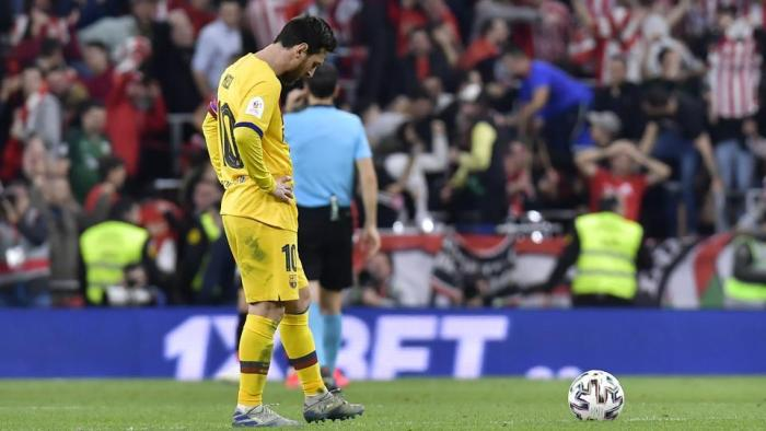 Barcelona in turmoil trying to make up for Lionel Messi's lost time