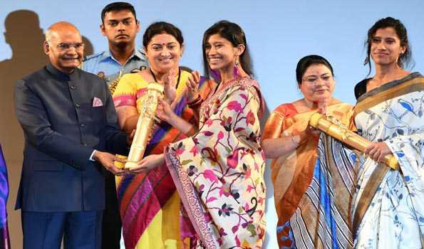 Prez gives away Nari Shakti Puraskars