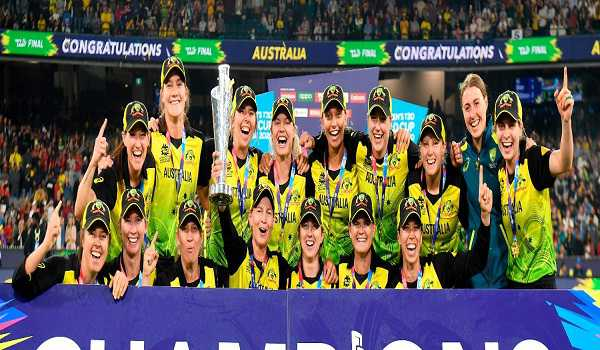 Australia win fifth ICC Women's T20 World Cup title after thrashing India in final