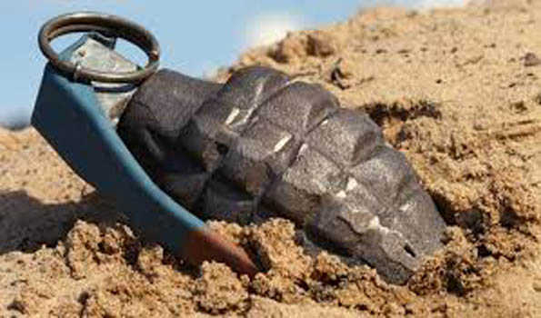 Grenade lobbed on forces in Kakapora, fails to explode