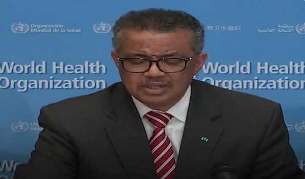 WHO declares coronavirus global pandemic
