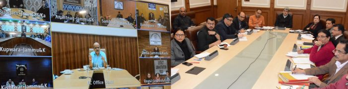 Coronavirus: Chief Secretary reviews preparations to deal with evolving situation of Coronavirus in Jammu Kashmir
