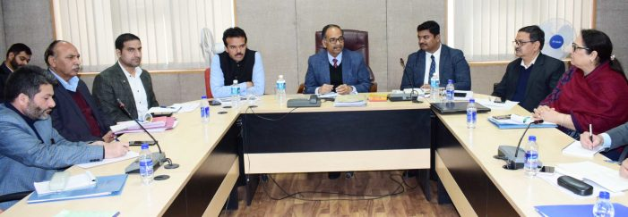 Committee Discusses Roadmap For 24X7 Power Supply In JK, Ladakh