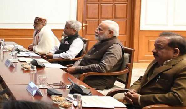 PM reviews situation on COVID-19 with concerned Ministries