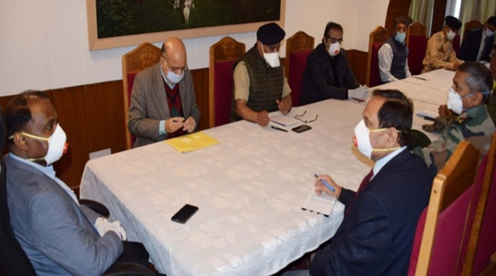 Robust arrangements in place to tackle COVID-19 in Kashmir: LG Murmu