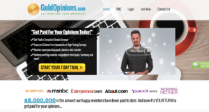 gold opinions review homepage