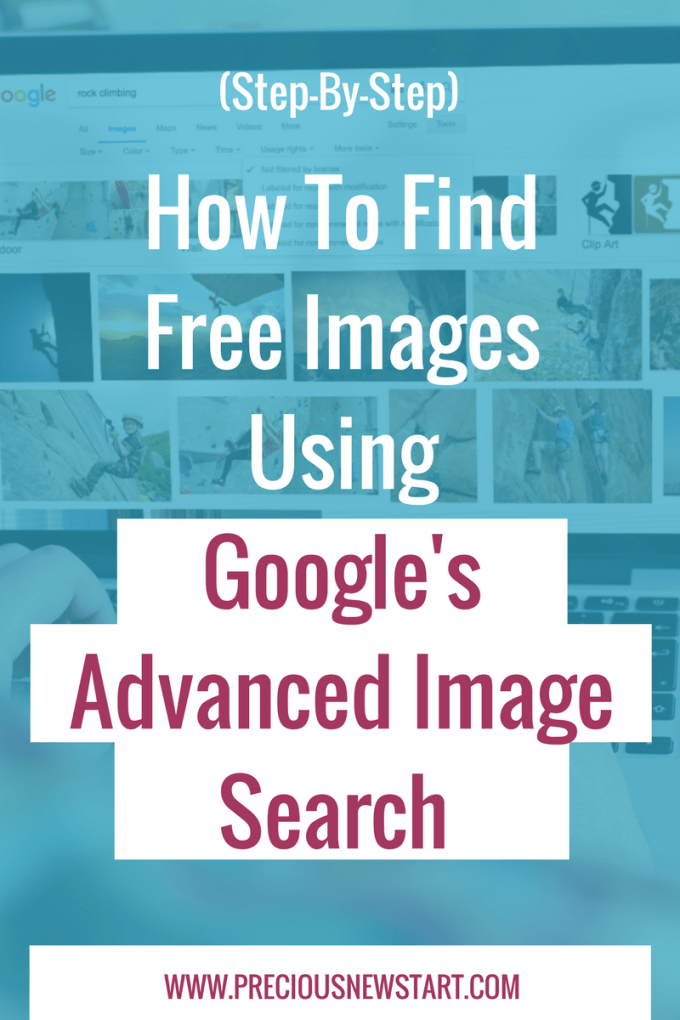 How To Find Free Images Using Google's Advanced Image Search pin