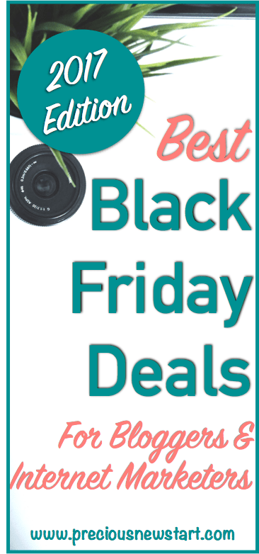 Best Black Friday Deals 2017 For Bloggers And Internet Marketers pin