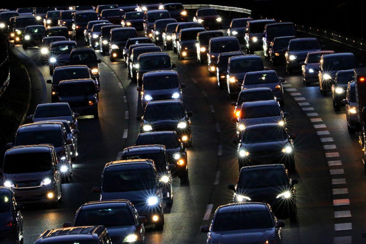 渋滞に巻き込まれる覚悟