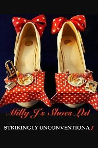 Milly J Shoes Red