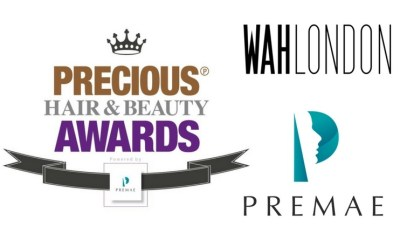 Precious hair and beauty logo