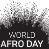 world afro day logo