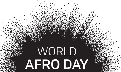 world afro day logo