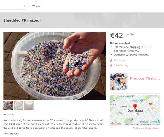 First products on Precious Plastic Bazar | Precious Plastic Den Haag | PPDH