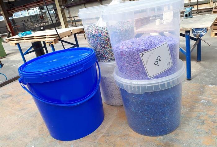 Container   Precious Plastic Den Haag   PPDH