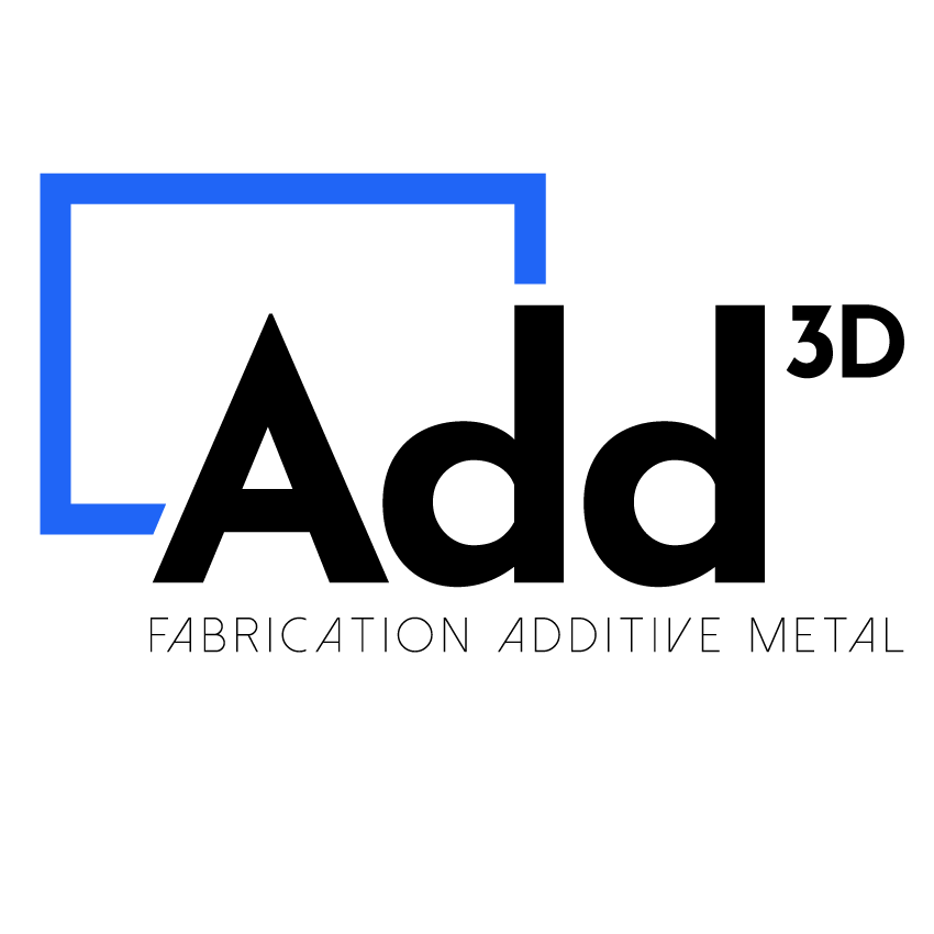 Logo Add3D de Precision IMS Fabrication Additive Métallique