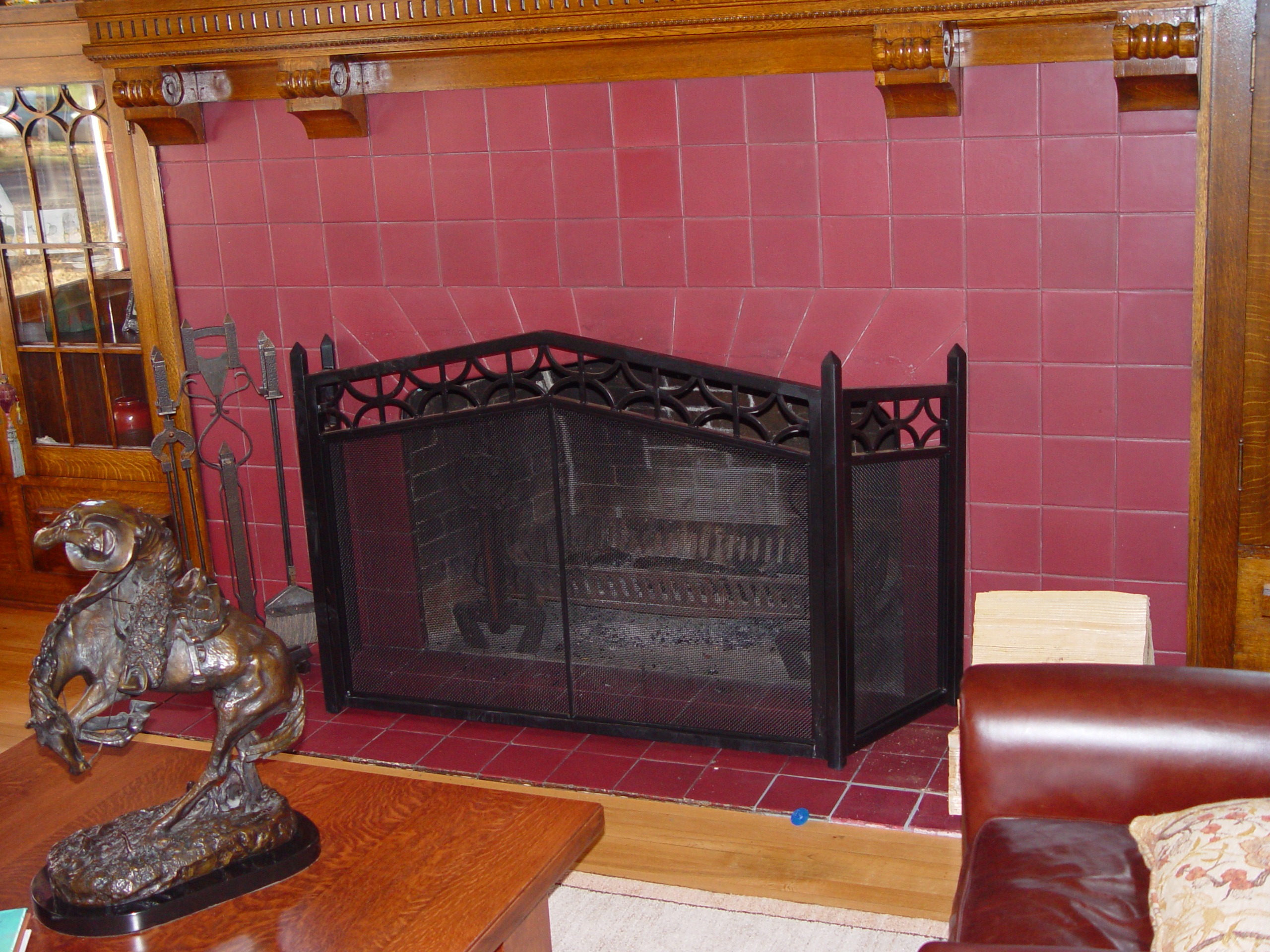 fireplaces u0026 fireplace screens precision ironworks