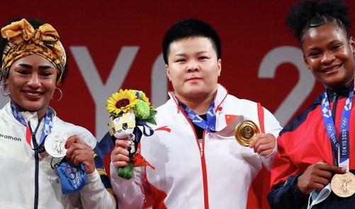 Crismery Santana gana bronce en pesas Juegos Olímpicos de Tokio - Precisión  - Con la información precisa