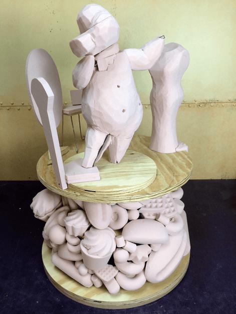 5 mo sculpture