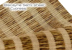 Elements Biscayne Semi-sheer Cypress window shade fabric