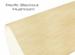 Elements Pacific Blackout Mushroom window shade fabric