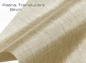 Elements Patina Translucent Birch window shade fabric