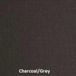 This is Charcoal/Grey fabric sample for our sun solar shades line of M Screen fabric.
