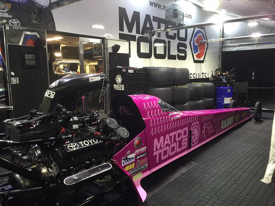 Dragsters Get Auto Wrap for Kiersten's Cause