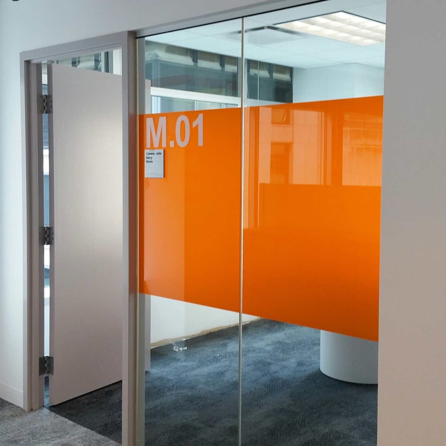 interesting office spaces simple interesting decorative glass film job adds new flair to office space films
