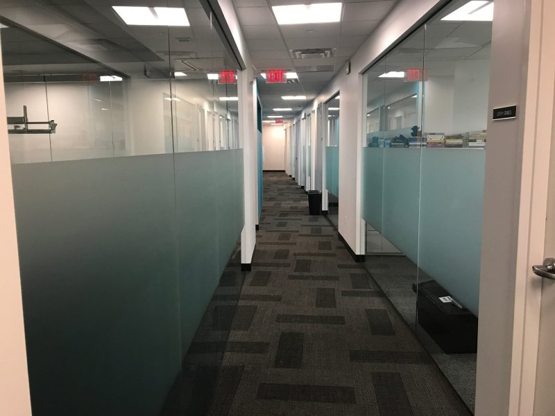 Add Privacy & Branding to Offices with Frosted Glass Films