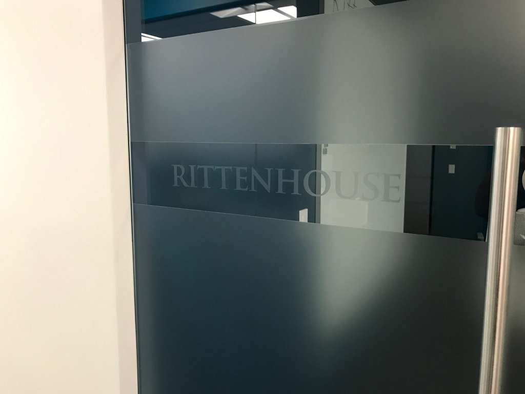 Add Privacy & Branding to Offices with Frosted Glass Films 3