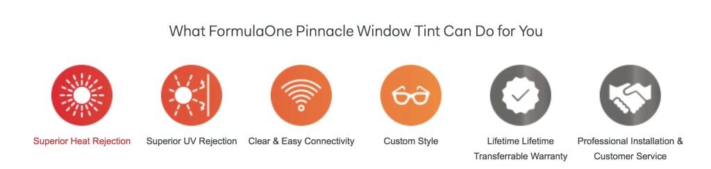Formula One Pinnacle Ceramic Window Tinting Can Help Tame the Sun 2