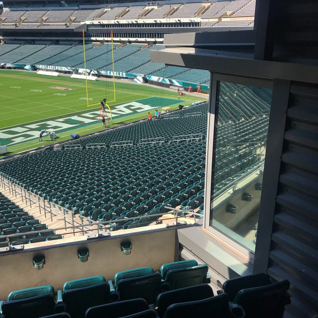 We Help Eagles Fans Enjoy Added Privacy with Vista Window Film = Window Tinting Philadelphia, Pennsylvania 2