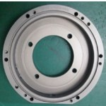 Cast Iron Machined Pipe Flange - Precision Machining Services UK