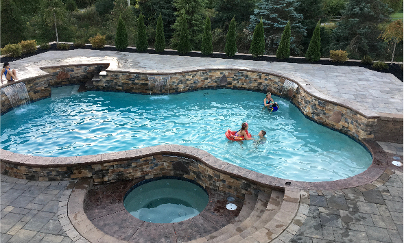 In-ground Pool and Spa Builder - Precision Pool and Spa