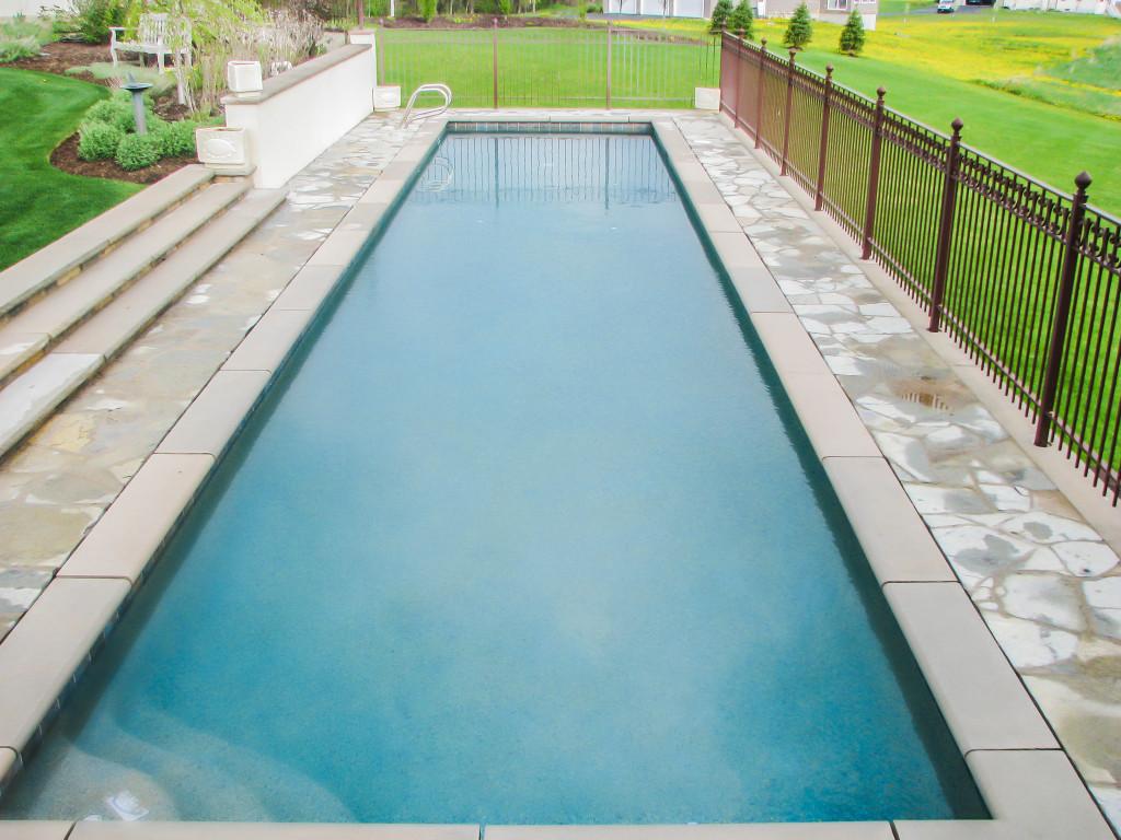inground pool, lap pool, gunite,