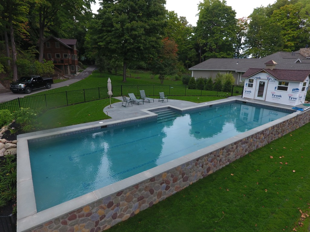 In Ground Gunite Pool Installation Precision Pool And Spa
