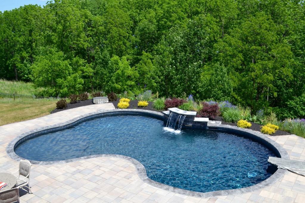 inground pool, gunite pool, Rochester, NY,